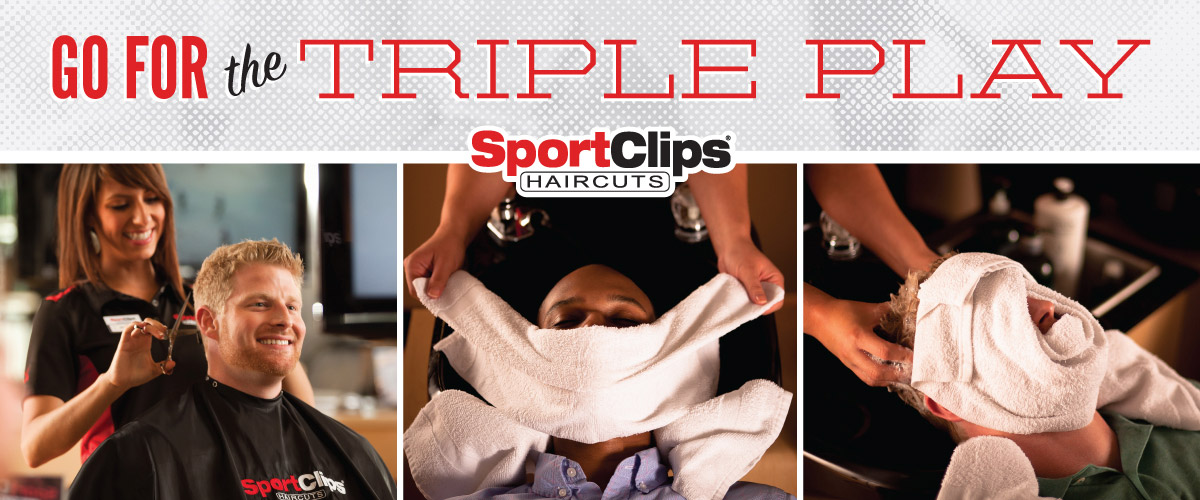 The Sport Clips Haircuts of Simpsonville - Five Forks Triple Play