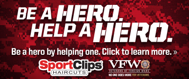 Sport Clips Haircuts of Simpsonville - Five Forks​ Help a Hero Campaign
